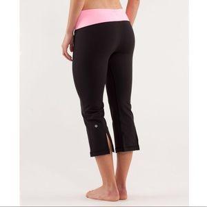 Lululemon split calf reversible cropped yoga pant
